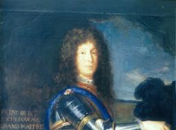 Copie d'un portrait de François VII de la Rochefoucauld - galerie - Atelier de restauration du Château de Sers