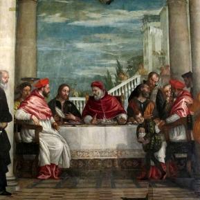 La Cène du pape Saint Grégoire de Paolo Véronèse
