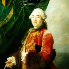 """Restauration de peinture de chevalet huile sur toile """"Portrait"""" XVIIIème Château de La Rochefoucauld - Après restauration"""
