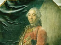 Restauration de peinture de chevalet huile sur toile - galerie - Atelier de restauration du Château de Sers