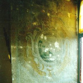 Restauration de peinture murale XVIIème classée au répertoire des monuments historiques - Château de La Rochefoucauld - Avant restauration
