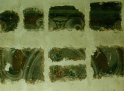 Restauration de peinture murale - galerie - Atelier de restauration du Château de Sers